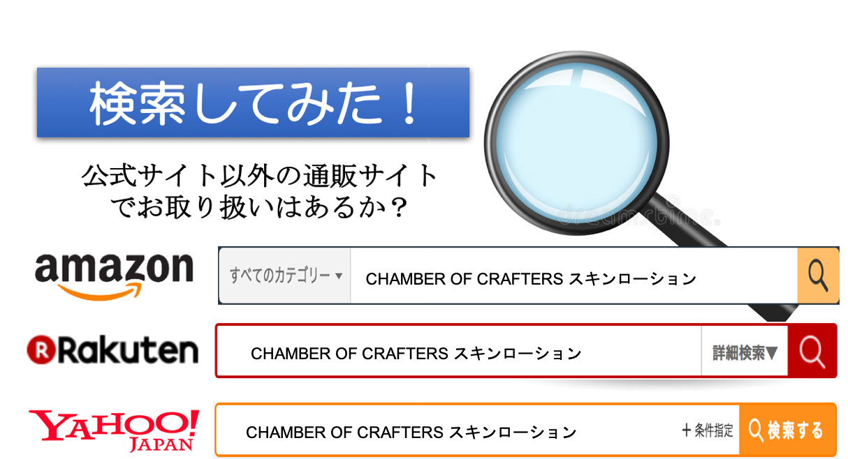 CHAMBER OF CRAFTERS(SKIN LOTION) 通販サイト